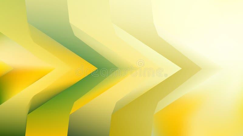 Green Yellow Orange Background Beautiful elegant Illustration graphic art design Background. Image royalty free illustration