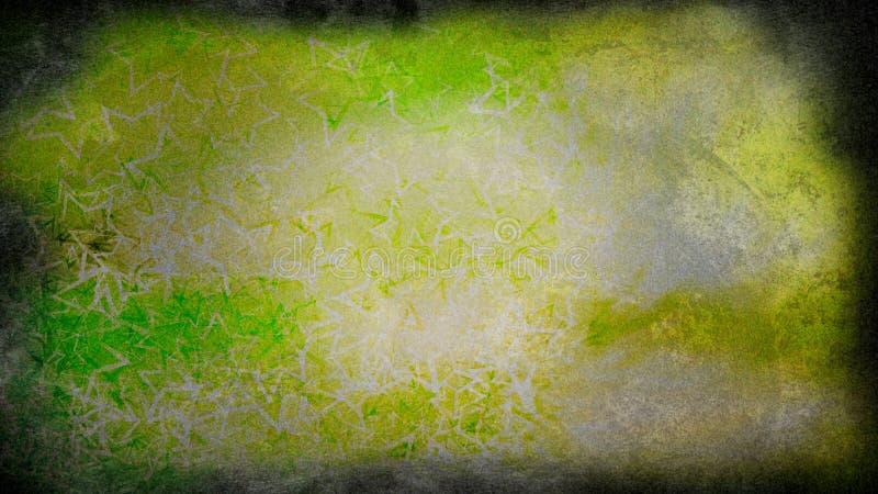 Green Yellow Painting Beautiful elegant Illustration graphic art design Background. Green Yellow Painting Background Beautiful elegant Illustration graphic art vector illustration