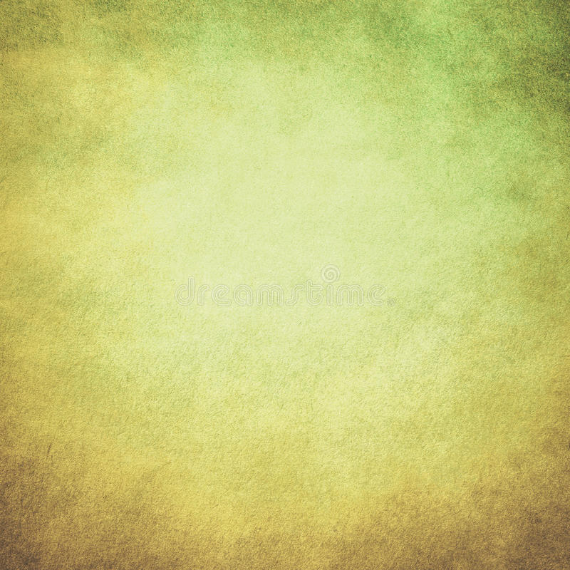 Green yellow paper