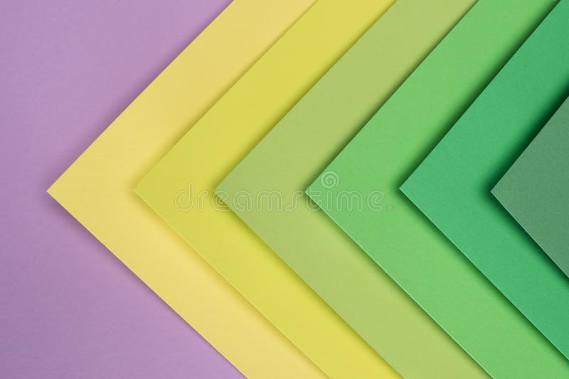 green, yellow and purple royalty free stock images