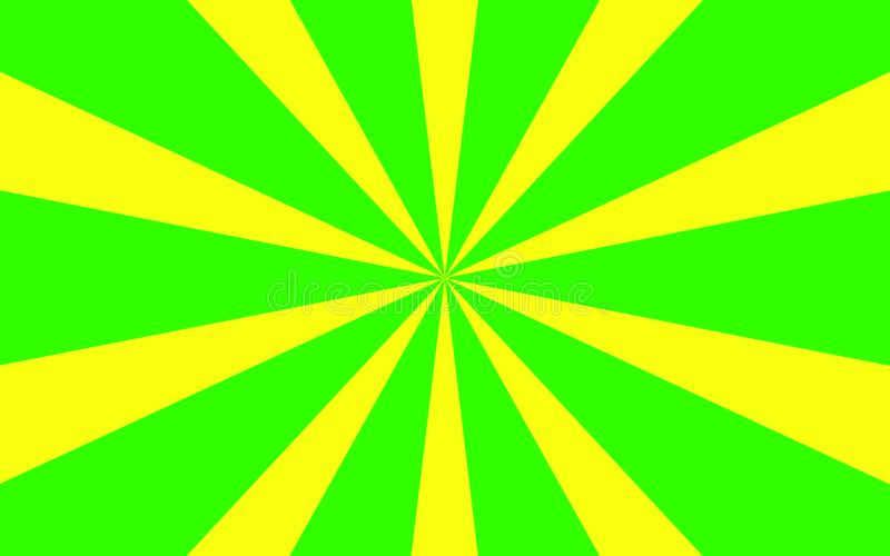 Green yellow rays background image royalty free stock photo