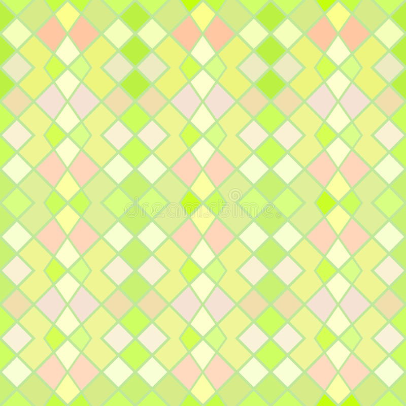 Green and yellow seamless pattern vector illustration