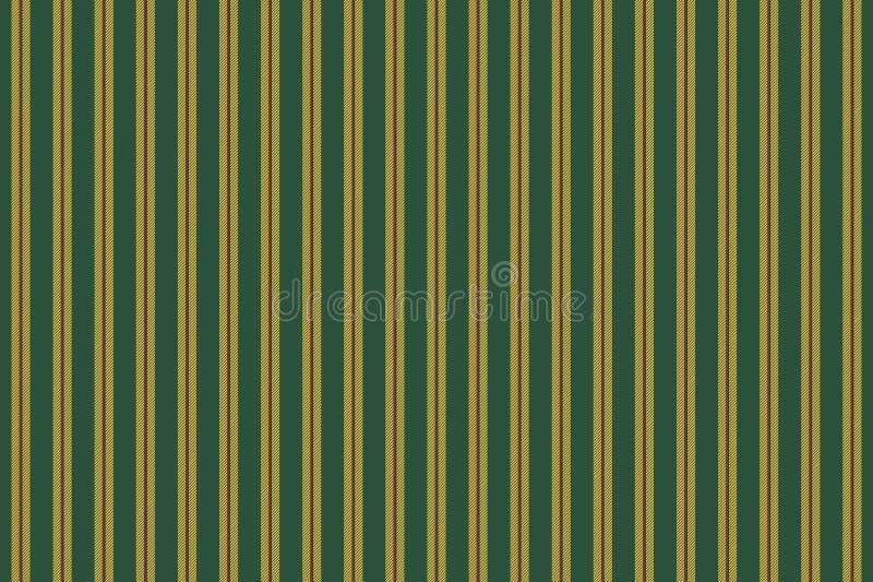 Green yellow striped texture seamless pattern. Vector illustration royalty free illustration