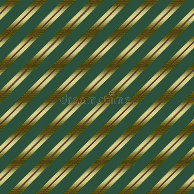 Green yellow striped texture seamless pattern stock illustration