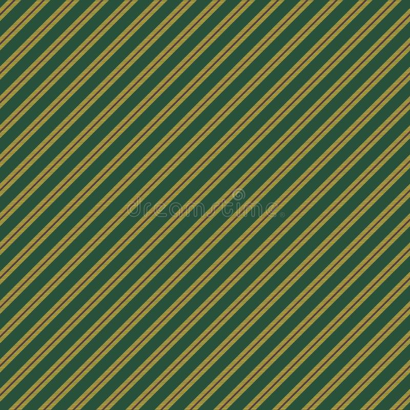 Green yellow striped texture seamless pattern royalty free illustration