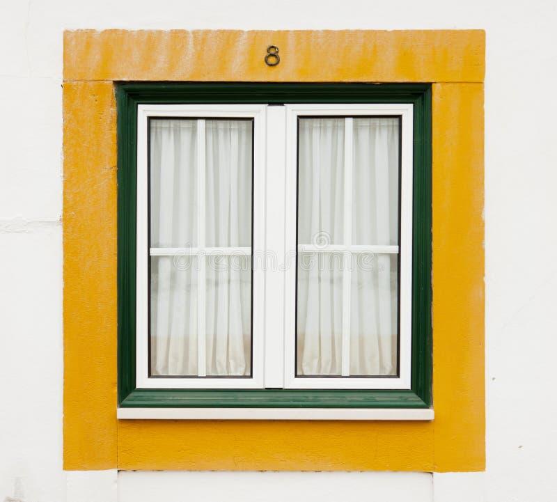 Green and yellow window