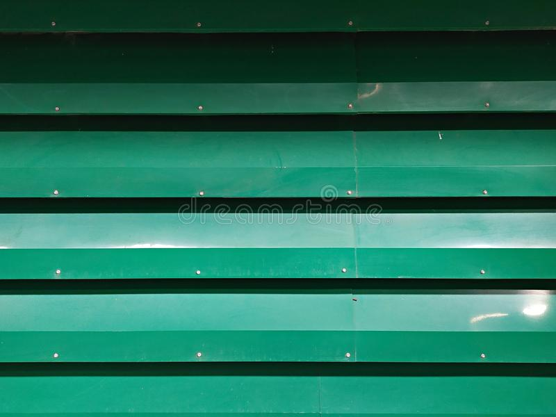 Green zinc metal sheet stock images