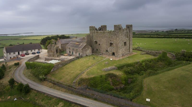 Greencastle спуск графства, Северная Ирландия стоковое фото