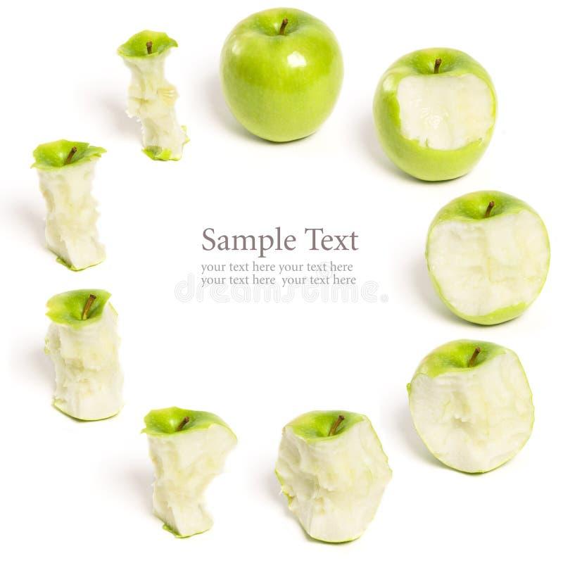 Greend Apple que é série comida imagem de stock royalty free