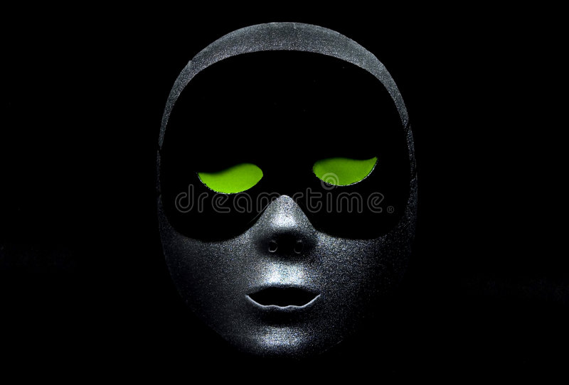 Download Greened Eyed stock image. Image of party, silver, drama - 25399