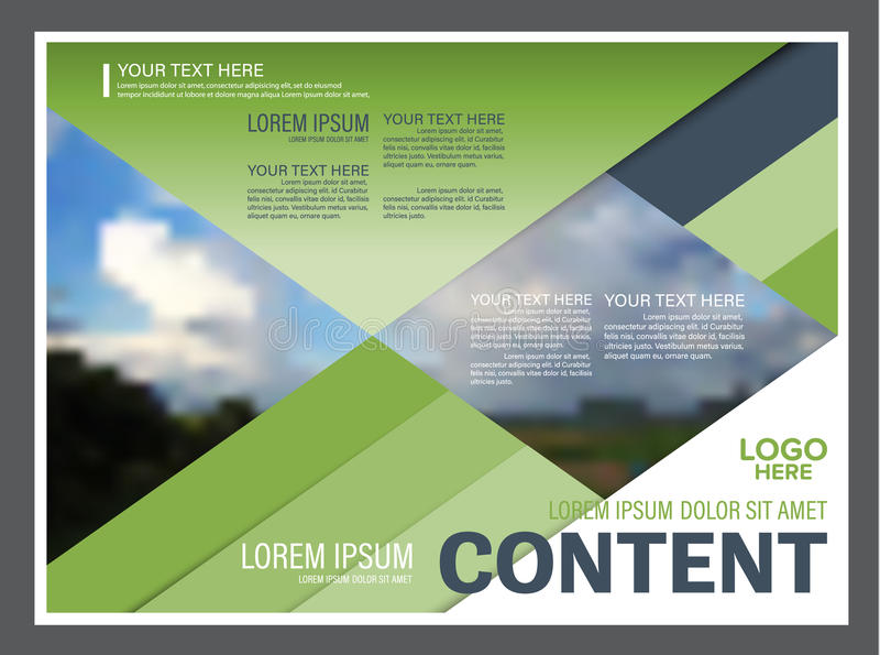 annual report cover page template