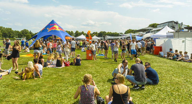 Greenfield-Festival-Freilicht 2015 lizenzfreie stockfotografie