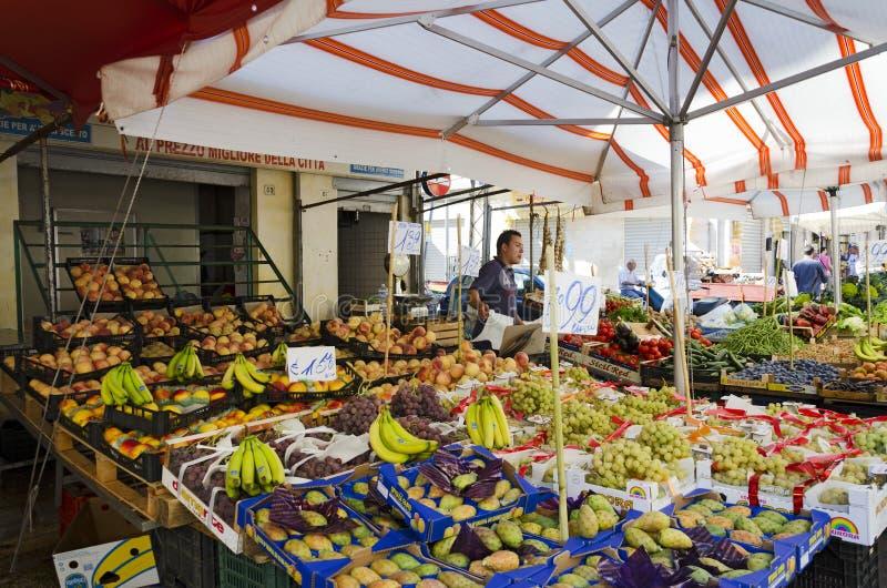 Greengrocers stockfotos