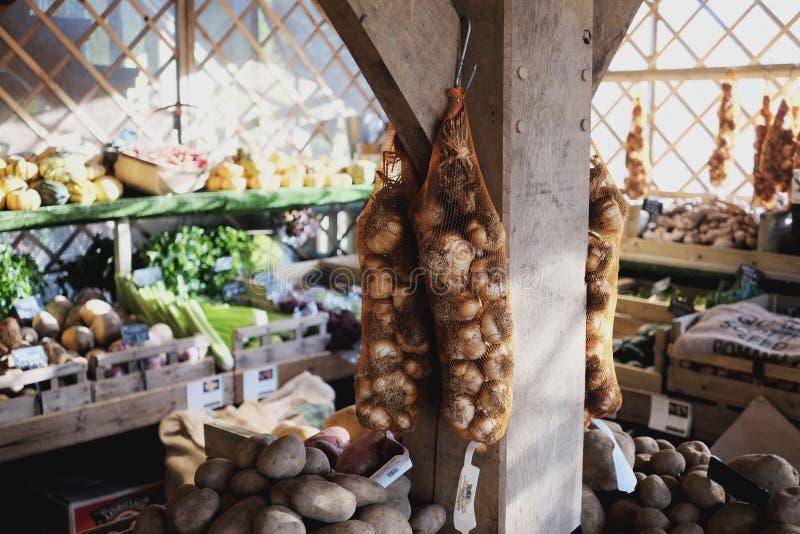 greengrocers image stock