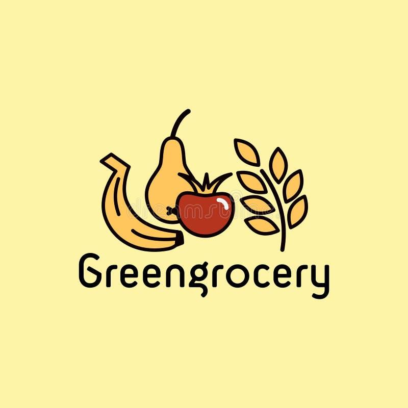 greengrocery stock illustratie