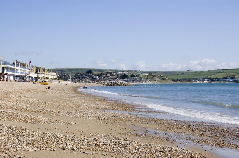 Greenhill Beach, Weymouth royalty free stock photo