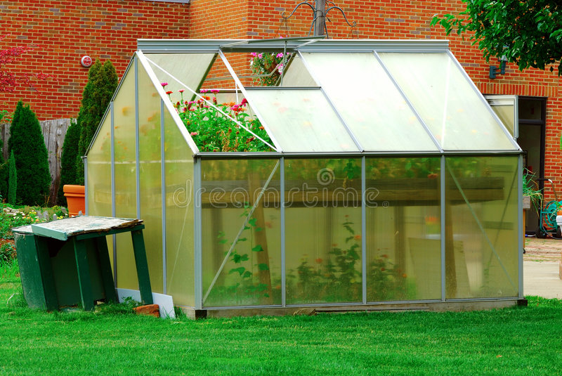 Download Greenhouse stock image. Image of colorful, window, warm - 2558883