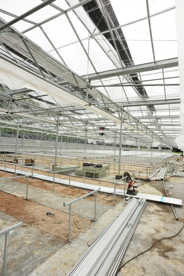 Download Greenhouse Construction Site Stock Photography - Image: 25845522