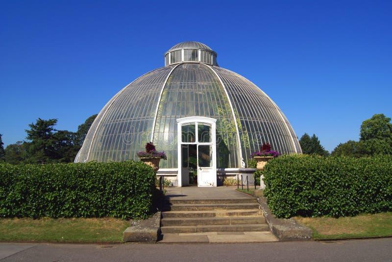 Greenhouse. The Royal Botanic Garden, Kew, London, England royalty free stock photo