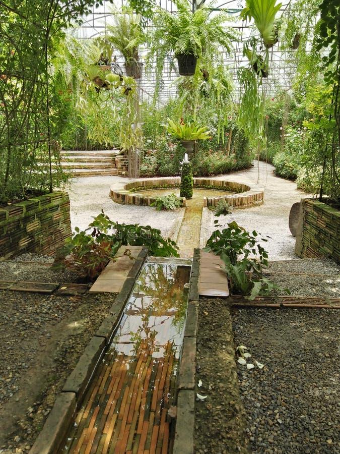 Greenhouse landscape royalty free stock image