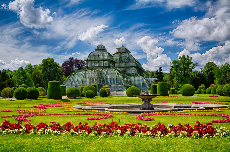 Greenhouse In Vienna stock photography