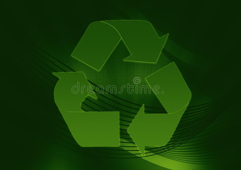 Download Greenish recycle stock illustration. Illustration of recycle - 5925942