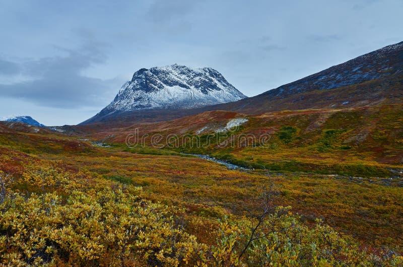 Greenland Fall stock photo