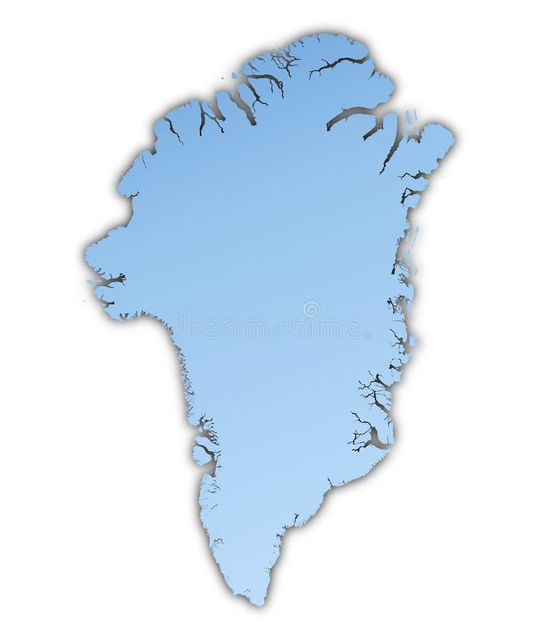 Greenland Map Stock Illustration Image Of Chart Atlas - Greenland map