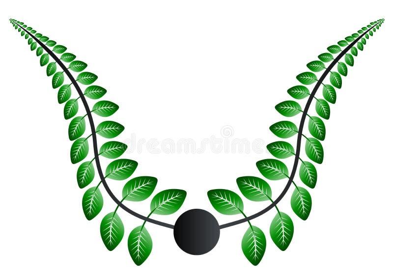 greenleaves stock illustrationer