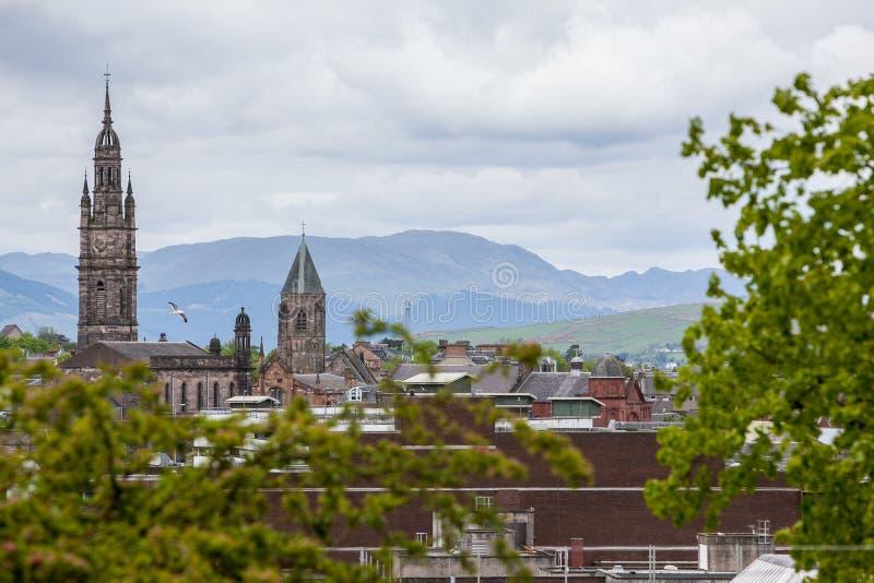 Greenock, Szkocja obrazy royalty free
