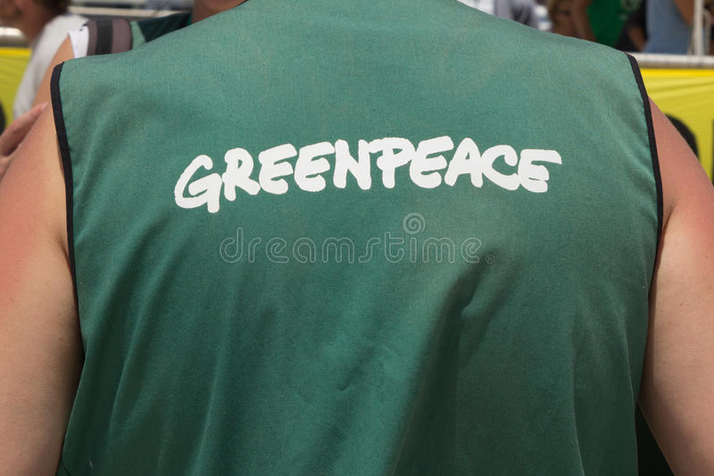 GreenPeace royalty free stock photo