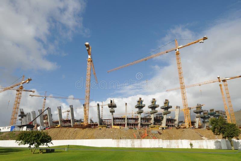 greenpointfotbollstadion 2010 royaltyfri foto