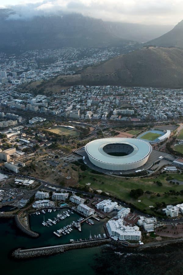 Greenpointstadion Zuid-Afrika stock afbeeldingen