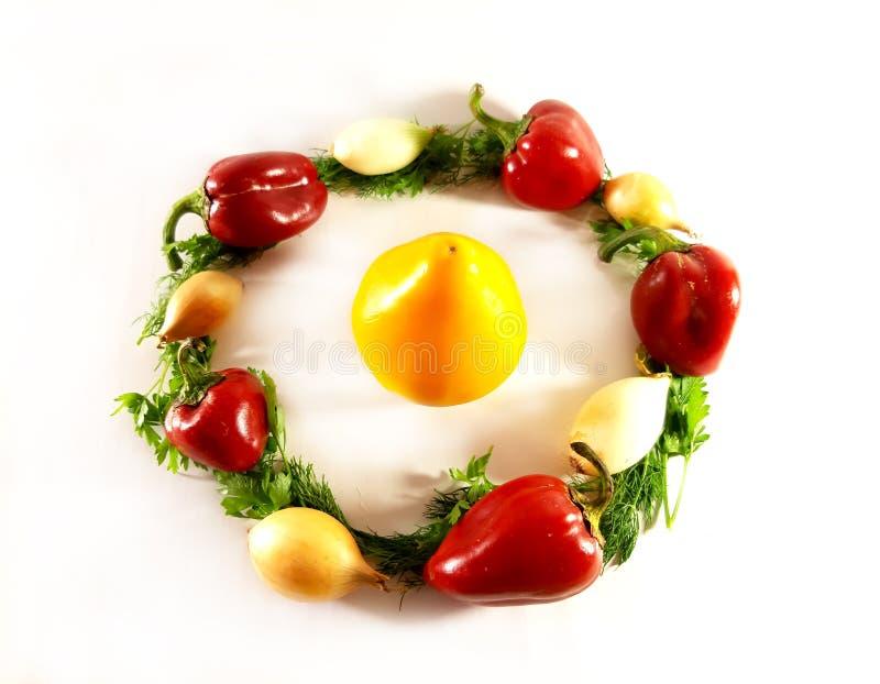 Greens geassorteerde groenten, ecologie, voedsel, dille Geïsoleerd groen voorwerp voor ontwerp, witte achtergrond royalty-vrije stock afbeelding