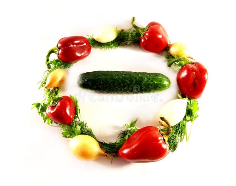 Greens geassorteerde groenten, ecologie, voedsel, dille Geïsoleerd groen voorwerp voor ontwerp, witte achtergrond royalty-vrije stock foto's
