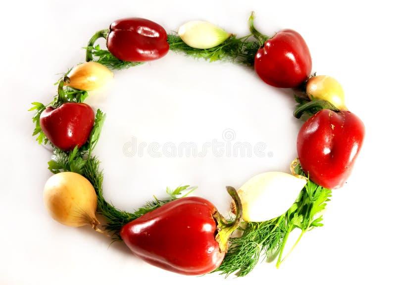 Greens geassorteerde groenten, ecologie, voedsel, dille Geïsoleerd groen voorwerp voor ontwerp, witte achtergrond stock foto