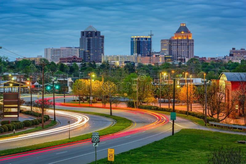 Greensboro North Carolina fotos de stock
