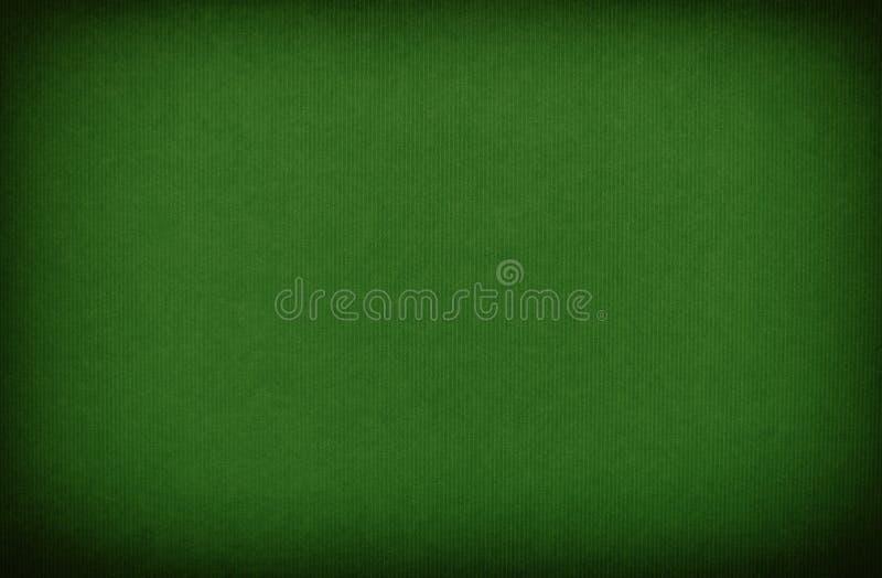 GreenStriped Papierbeschaffenheits-Hintergrund stockfoto