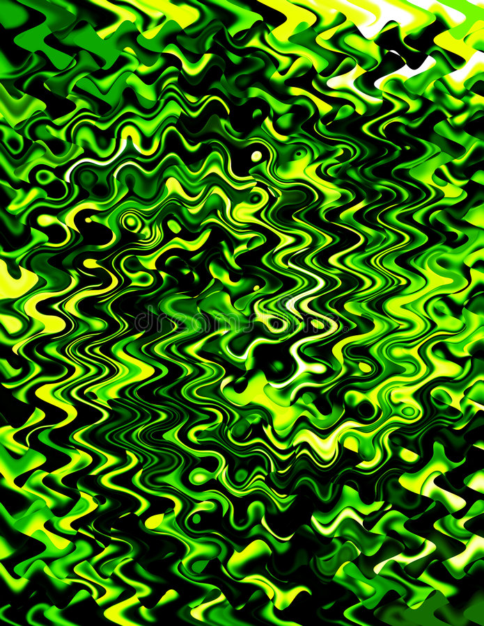 greenswirls royaltyfri bild