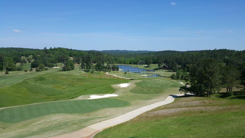 Greenville Alabama Robert Jones Golf Trail trent fotografie stock
