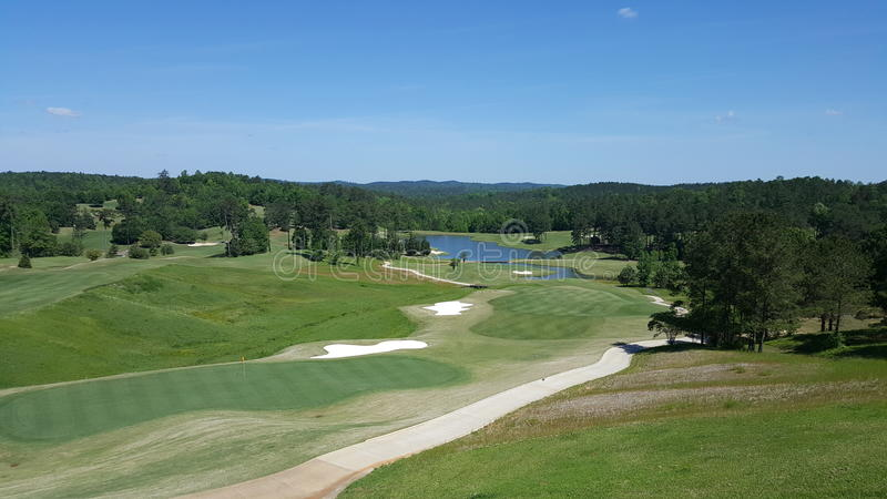 Greenville Alabama Robert trent Jones Golf Trail stockfotos