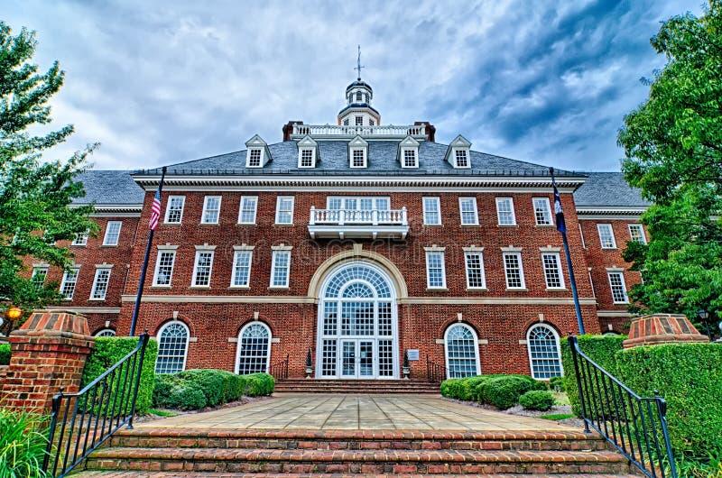 Greenville miasta Carolina południowa linia horyzontu i centrum miasta obraz royalty free