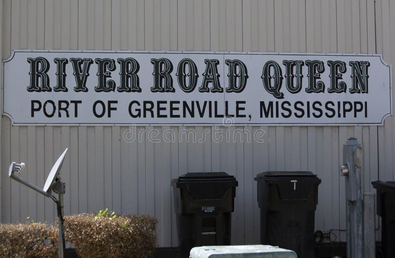 Greenville, Mississippi/Etats-Unis - 11 juillet : le 11 juillet 2016 à Greenville, le Mississippi images libres de droits