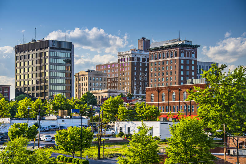 Greenville, South Carolina imagem de stock
