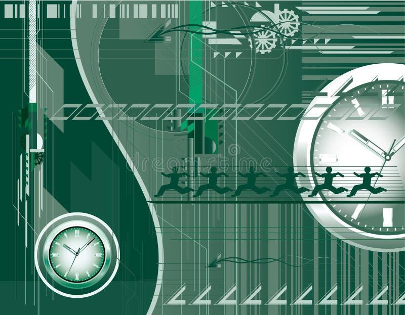 Download Greenwatch vector illustratie. Illustratie bestaande uit oppervlakte - 10779057
