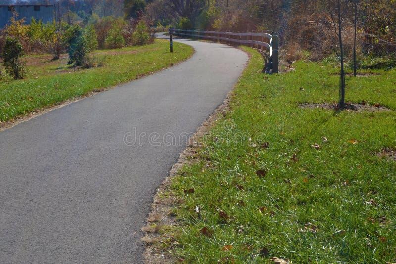 Greenway Roanoke стоковые изображения