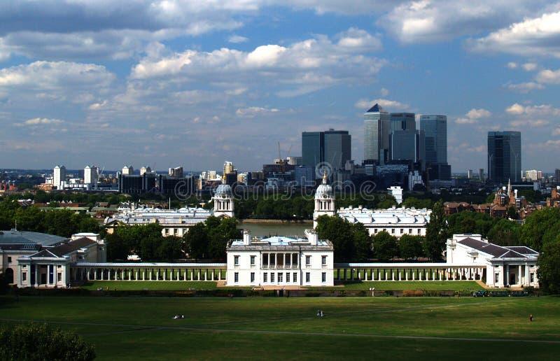 Greenwich royalty-vrije stock afbeeldingen