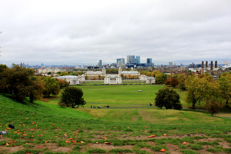 Greenwich Landscape stock images