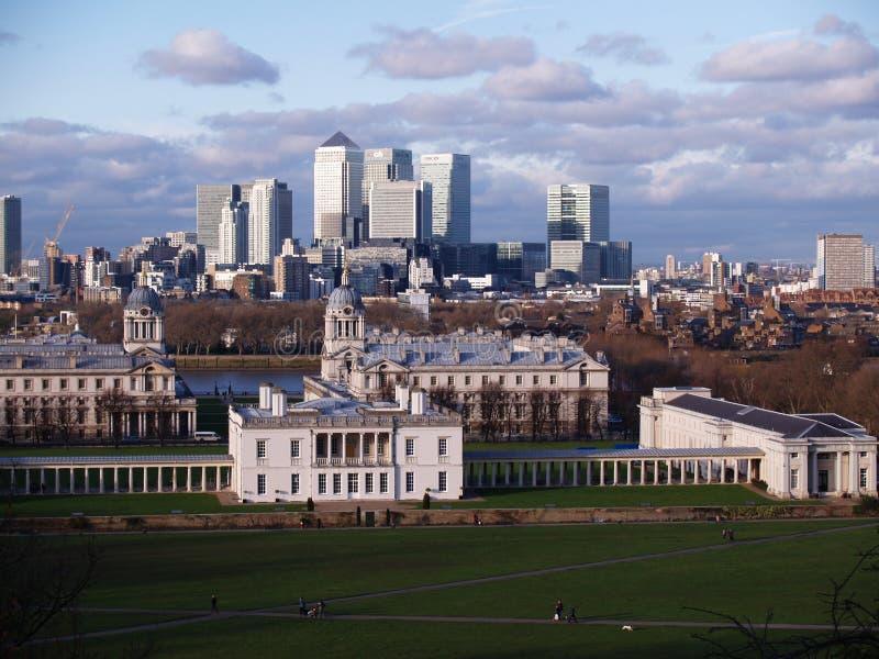 Greenwich, Londen royalty-vrije stock afbeeldingen
