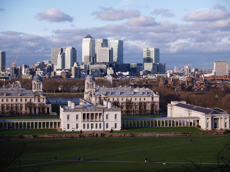greenwich London obrazy royalty free